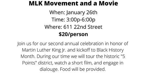 Movement and a Movie