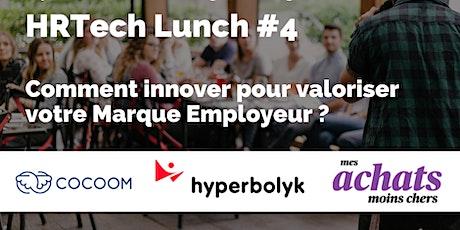 HRTech Lunch #4 : Comment innover pour valoriser votre Marque Employeur ? billets