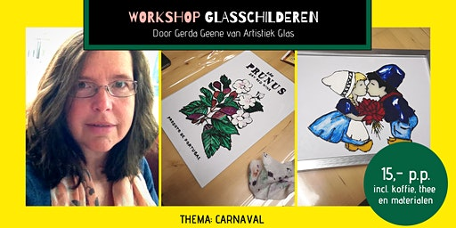 Workshop glasschilderen