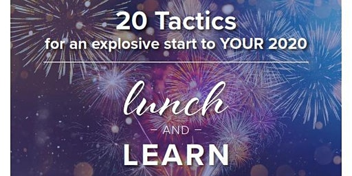 20 Tactics for an explosive start to YOUR 2020
