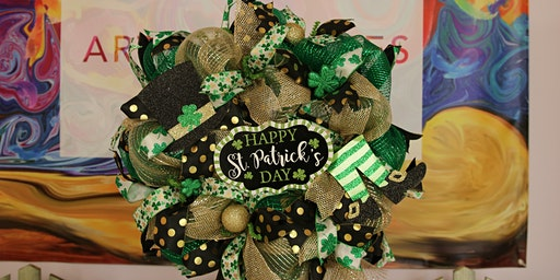 St. Patrick's Day Wreath - Limited seating - BYOB
