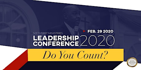 LEADERSHIP CONFERENCE 2020: Do YOU Count?  tickets