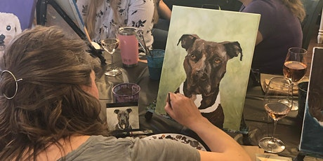 Paint Your Pet Class at Craft Bar West tickets