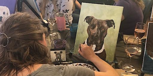 Paint Your Pet Class at Craft Bar West