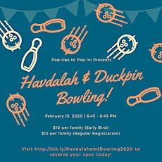 Havdalah &...Duckpin Bowling tickets