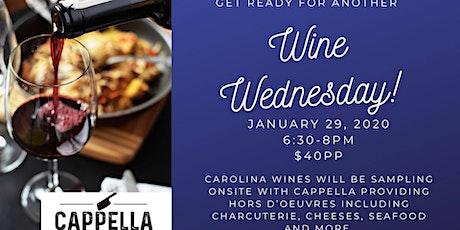 Wine Wednesday with Carolina Wines tickets