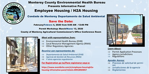 Employee Housing/H2A Housing Information Panel