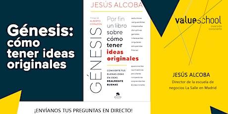 Presentación de Génesis: Por fin un libro sobre cómo tener ideas originales entradas