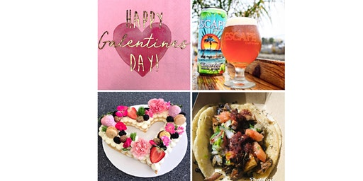 Galentine's Ladies Night - food, drinks, trivia & cookie tart decorating at Escape Craft Brewery