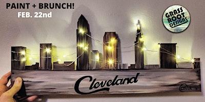 Rustic Cleveland {Light Up}   Paint + Brunch!