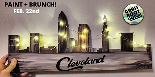 Rustic Cleveland {Light Up} | Paint + Brunch!
