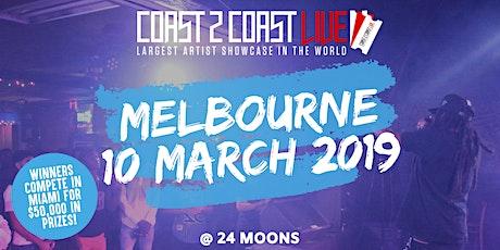 Coast 2 Coast LIVE Showcase Melbourne, AU - Artists Win $50K In Prizes tickets