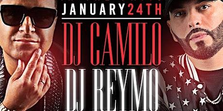 DJ Camilo x DJ Reymo @barCode NJ tickets