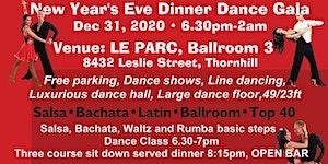 New Year's Eve Salsa, Bachata, Latin and Ballroom...