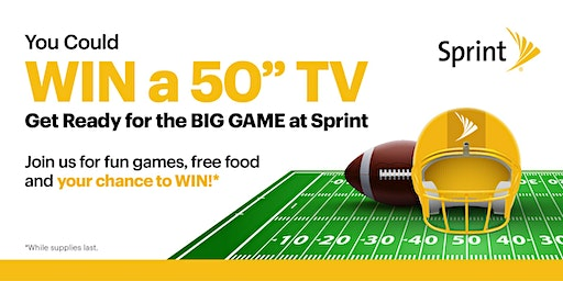 Big Game at Sprint!