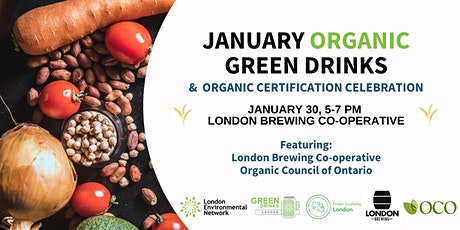 January Organic Green Drinks Celebration tickets
