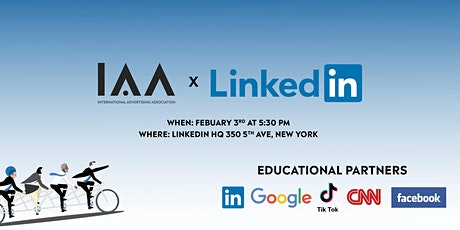 LinkedIn x IAA - Young Professionals Training & Networking Event tickets