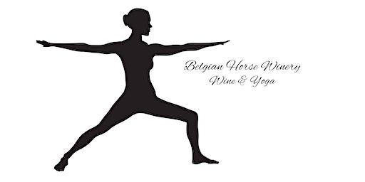 Wine and Yoga February!