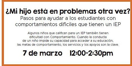 Helping Students with Difficult Behaviors - SPANISH presentation tickets