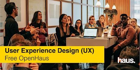User Experience Design (UX) OpenHaus tickets