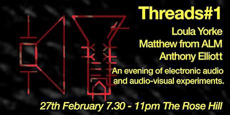 Brighton Modular Meet presents: Threads #1 tickets