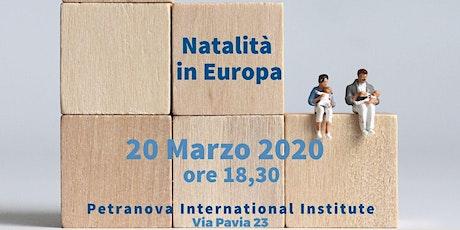 Natalità in Europa: i trend demografici in Europa tickets
