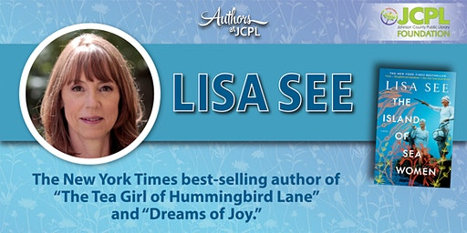 Authors at JCPL Presents: Lisa See (plus book giveaway)