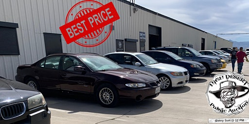Best Public Auto Auction, Drive a little save ALOT!