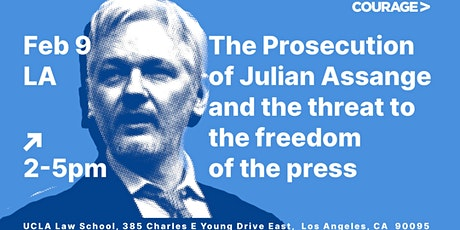The Prosecution of Julian Assange & the Threat to the Freedom of the Press tickets