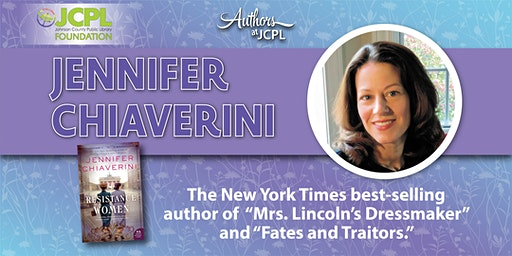 Authors at JCPL Presents: Jennifer Chiaverini (plus book giveaway)