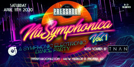 NuSymphonica Vol. 1: A Symphonic Electronic Dance Party @ The Pressroom tickets