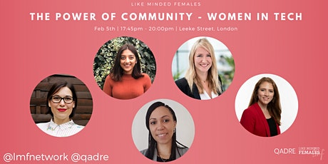 The Power of Community - Women in Technology tickets