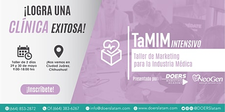 TaMIM Intensivo: Taller de Marketing para la Industria Médica boletos