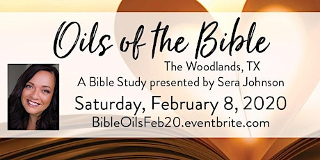 """Oils of the Bible"" with Sera Johnson tickets"