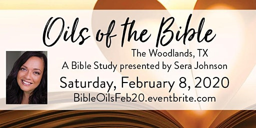 """""""Oils of the Bible"""" with Sera Johnson"""