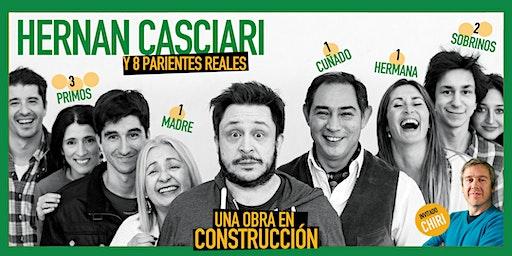 «Una obra en construcción», de H. Casciari ✦ VIE 6 MARZO, CC Konex (CABA)