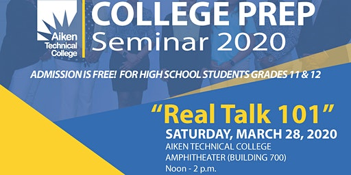 College Prep Seminar 2020