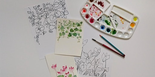 Craft Lab: Watercolor Notecards
