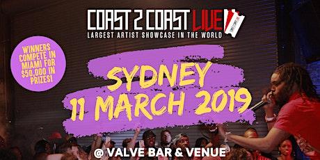 Coast 2 Coast LIVE Showcase Sydney, AU - Artists Win $50K In Prizes tickets