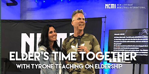 Elders training with Tyrone and Nicole Daniel