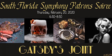South Florida Symphony Patrons Soirée at Gatsby's Joint tickets