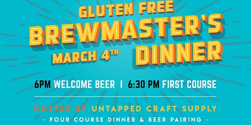 5 Course Gluten Free Menu & Beer Pairing