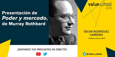 Presentación de Poder y mercado, de Murray Rothbard tickets