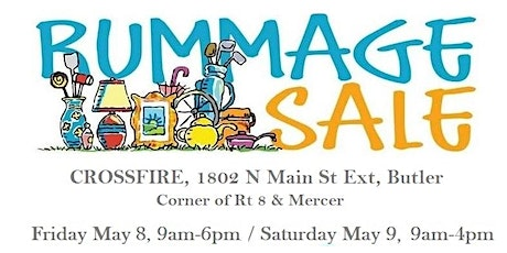 Annual Rummage Sale tickets