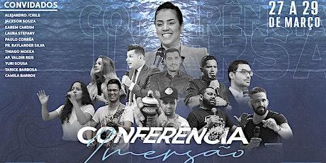 Conferência Imersão  ingressos