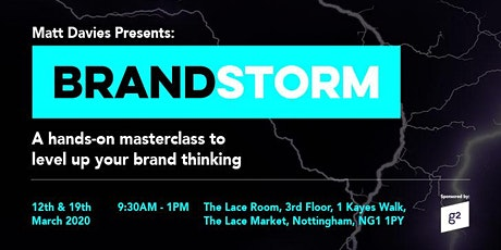 Brandstorm Masterclass with Matt Davies tickets