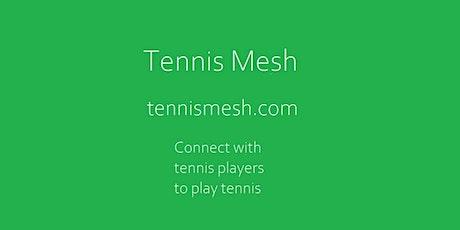 Tennis Mesh | Find tennis partners tickets