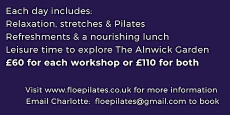 Pilates & Wellness Weekend @ The Alnwick Garden tickets