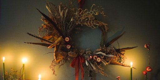 Scottish Autumnal Wreath Workshop