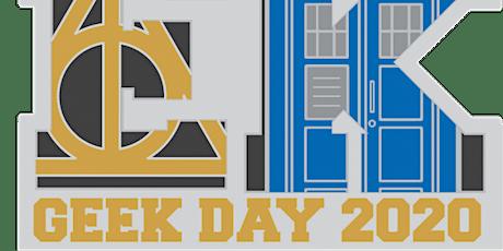 2020 Geek Day 1M 5K 10K 13.1 26.2 –Tulsa tickets